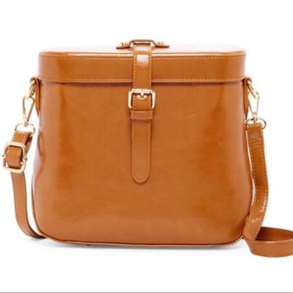 Pink Haley Handbags - New Vintage Design Bag Cognac Color